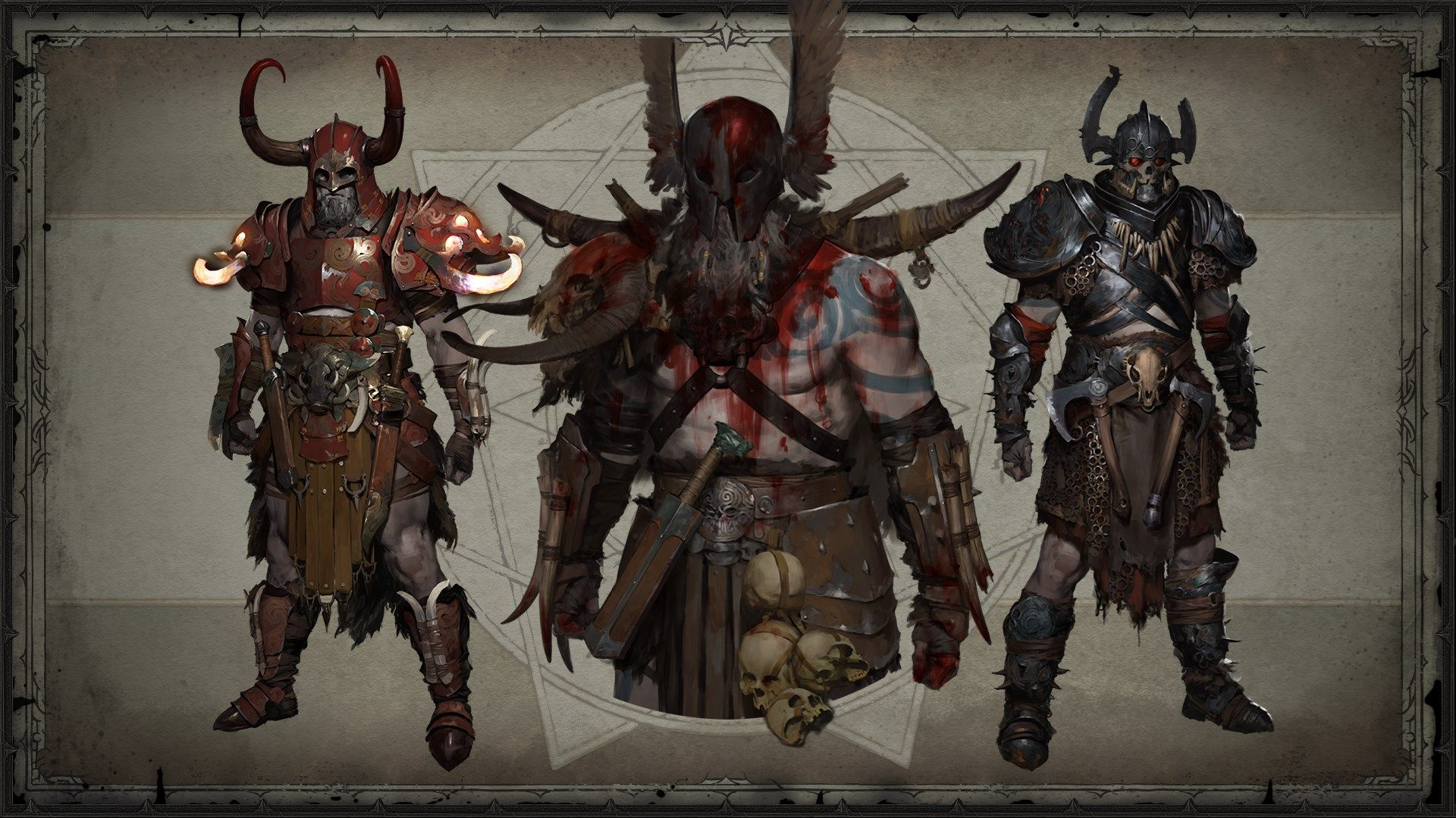 Illustrations de Diablo IV
