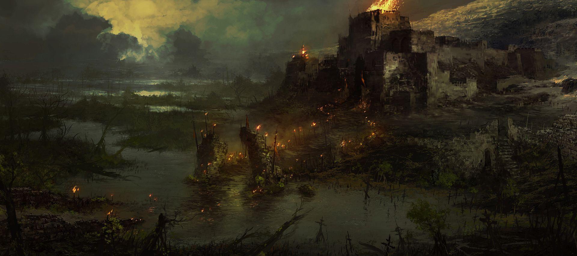 Illustrations de Diablo IV